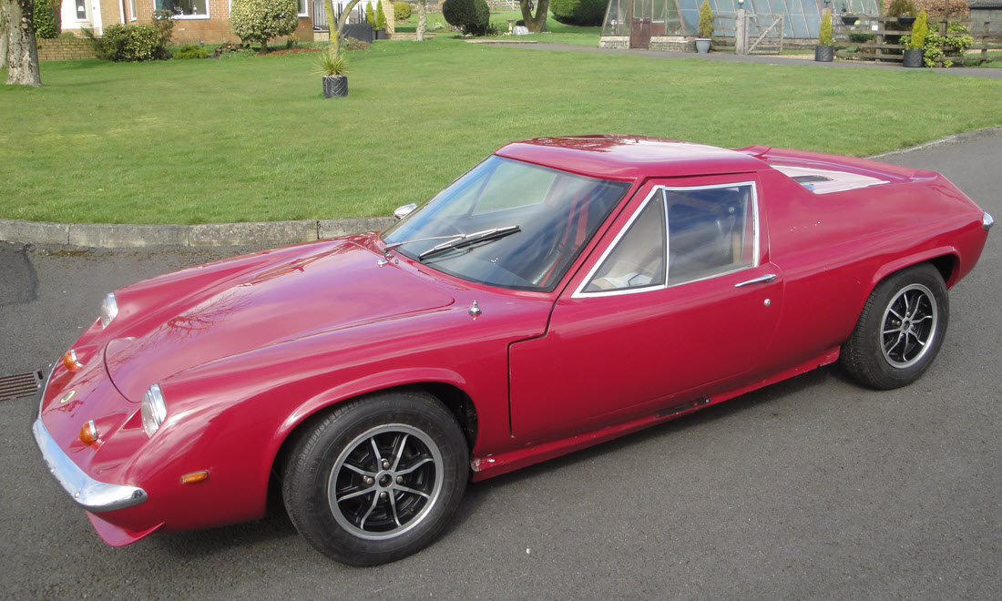 Lot 99 - 1971 Lotus Europa Twin Cam  SOLD for £15,225