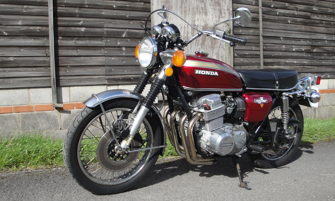 Lot 100 - 1976 Honda CB750 Four Not Sold. Please contact us