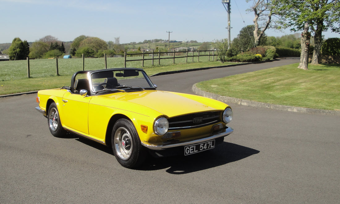 Lot 101 - 1973 Triumph TR6  SOLD for £15,750