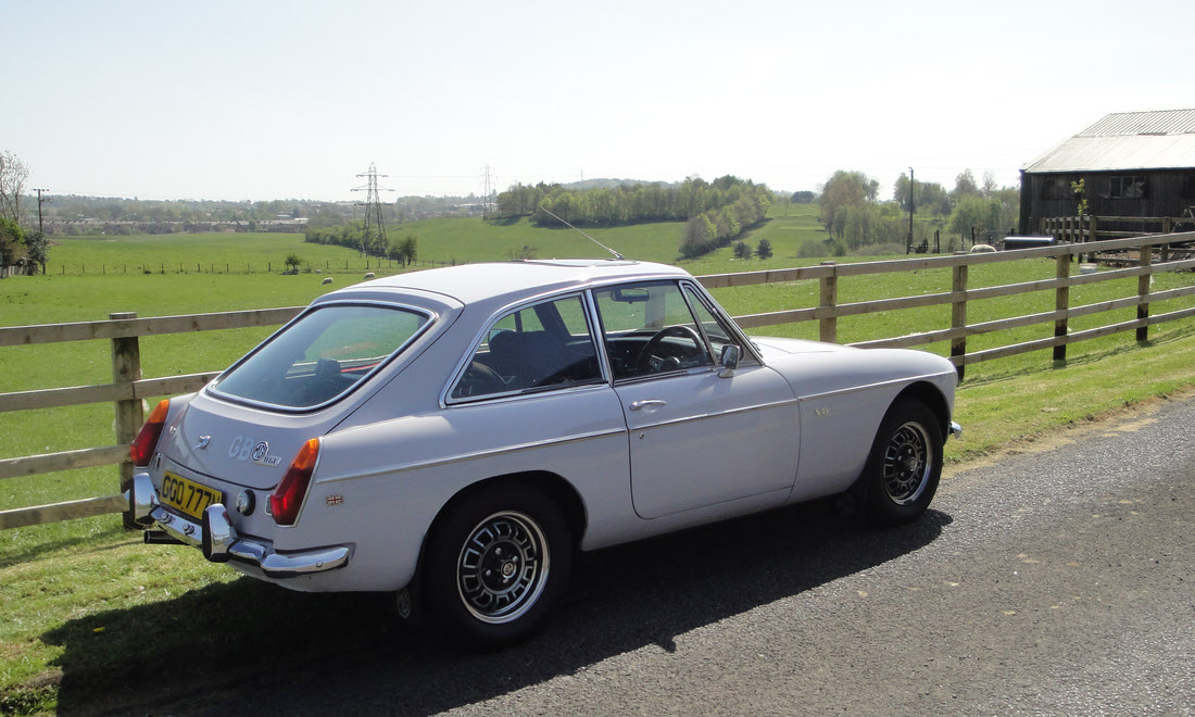 Lot 102 - 1974 MGB GT V8 SOLD for £17,903