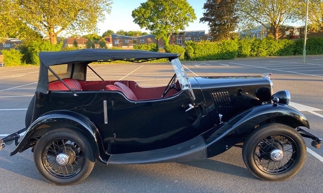 Lot 105 - 1937 Morris 8 Tourer SOLD for £12,022