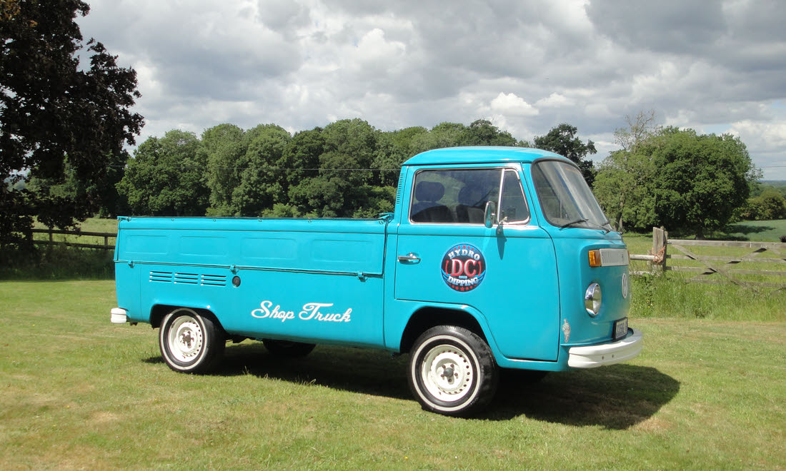 Lot 106 - 1973 Volkswagen Type 2 Single Cab Pick-Up SOLD for £7,875