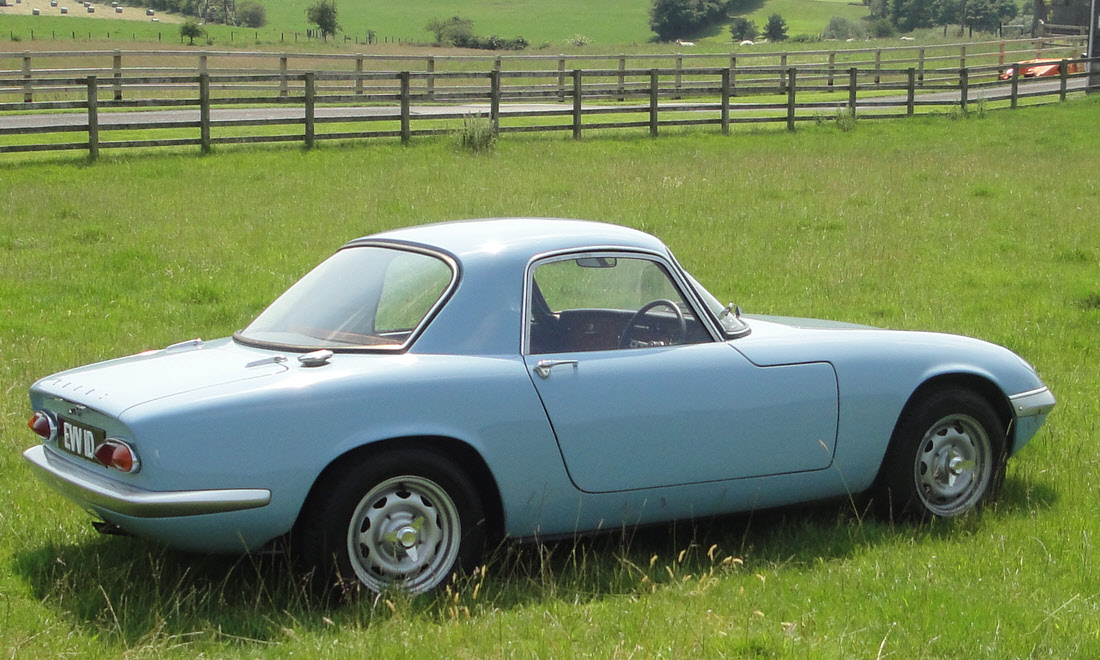 Lot 110 - 1966 Lotus Elan Series 3 Fixed Head Coupe SOLD for £24,233