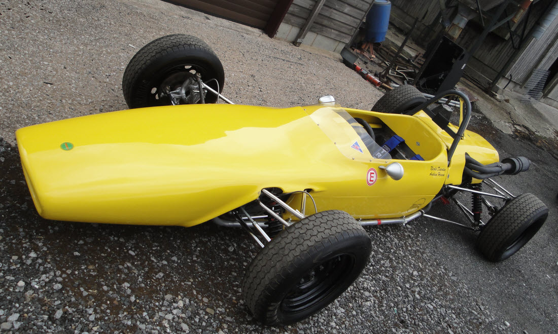 LOT 111 - 1969 Merlyn Mk 11A Formula Ford 1600 Single-Seater Not Sold. Please contact us