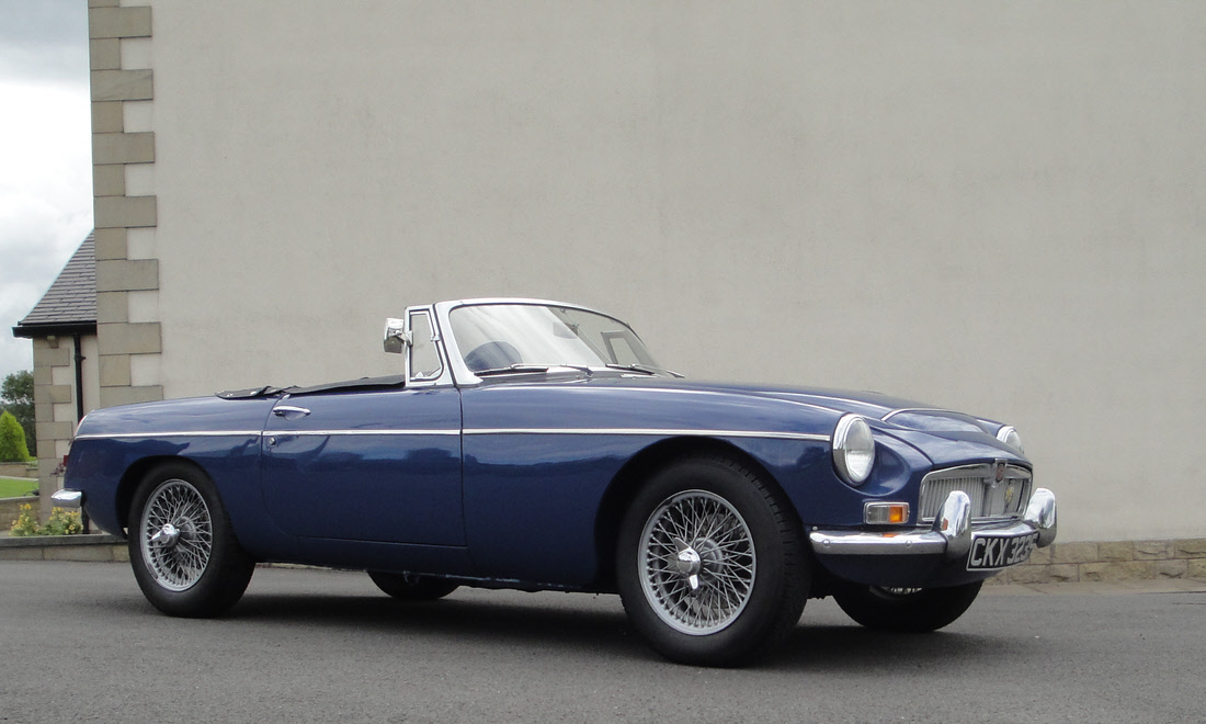 Lot 117 - 1968 MGC Roadster To be reoffered in October