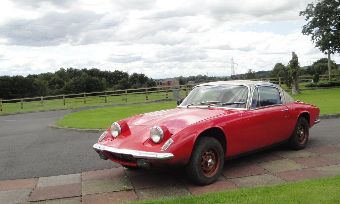 LOT 120 - 1972 Lotus Elan +2S 130 SOLD for £10,100
