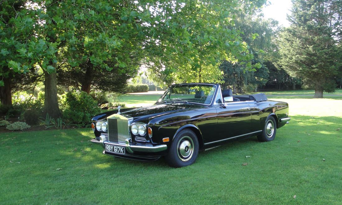 Lot 122 - 1972 Rolls-Royce Corniche Convertible SOLD for £39,900