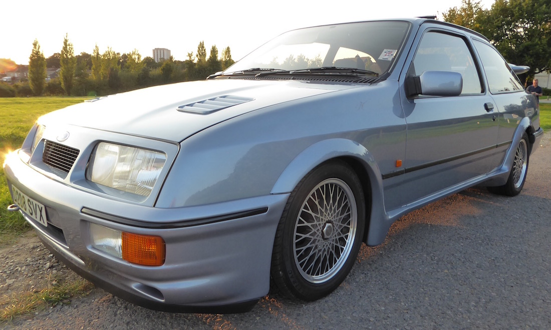 Lot 124 - 1986 Ford Sierra RS Cosworth SOLD for £38,115