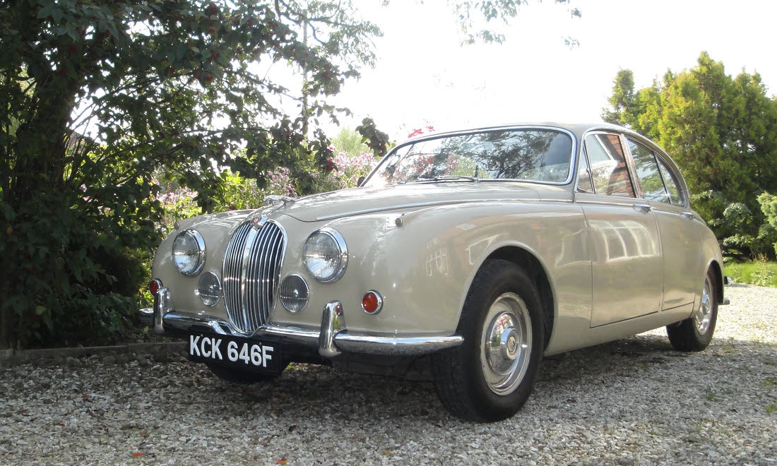LOT 125 - 1968 Jaguar 240 Sports Saloon SOLD for £9,503