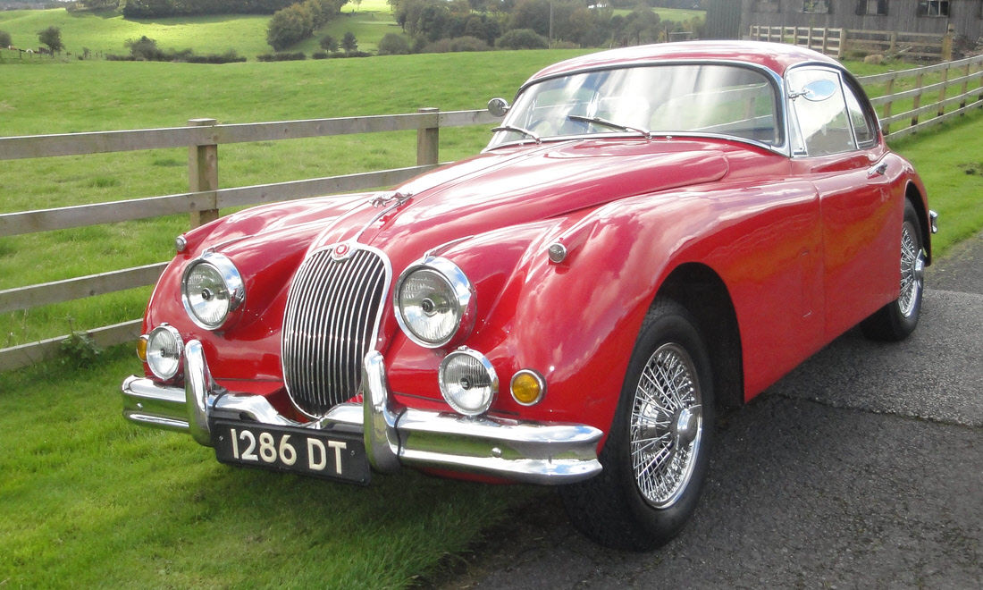 LOT 127 - 1958 Jaguar XK150 SE 3.4 Fixed Head Coupé SOLD for £41,000