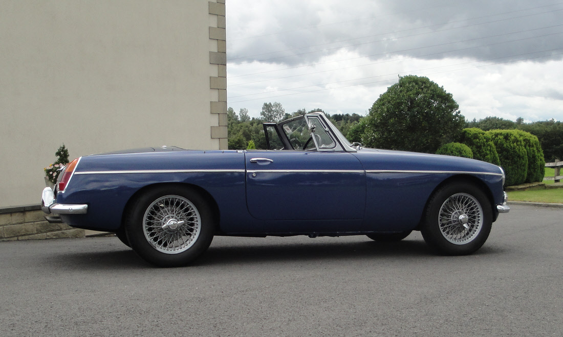 Lot 128 - 1968 MGC Roadster SOLD for £22,680