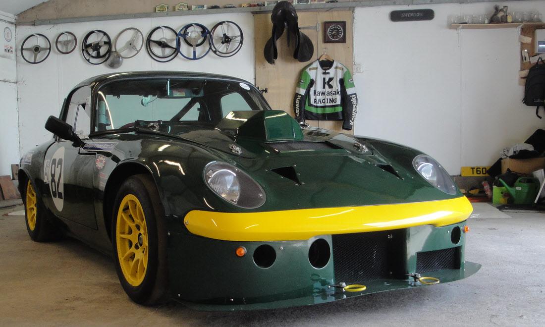 Lot 129 - 2016 Lotus Elan Fixed Head Coupé Race Car SOLD for £11,000