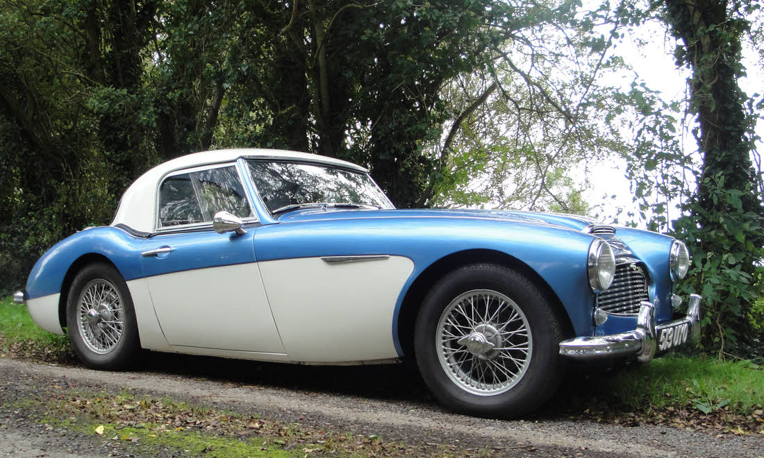 LOT 131 - 1960 Austin-Healey 3000 MK I BN7 Two-Seater Not Sold. Please contact us
