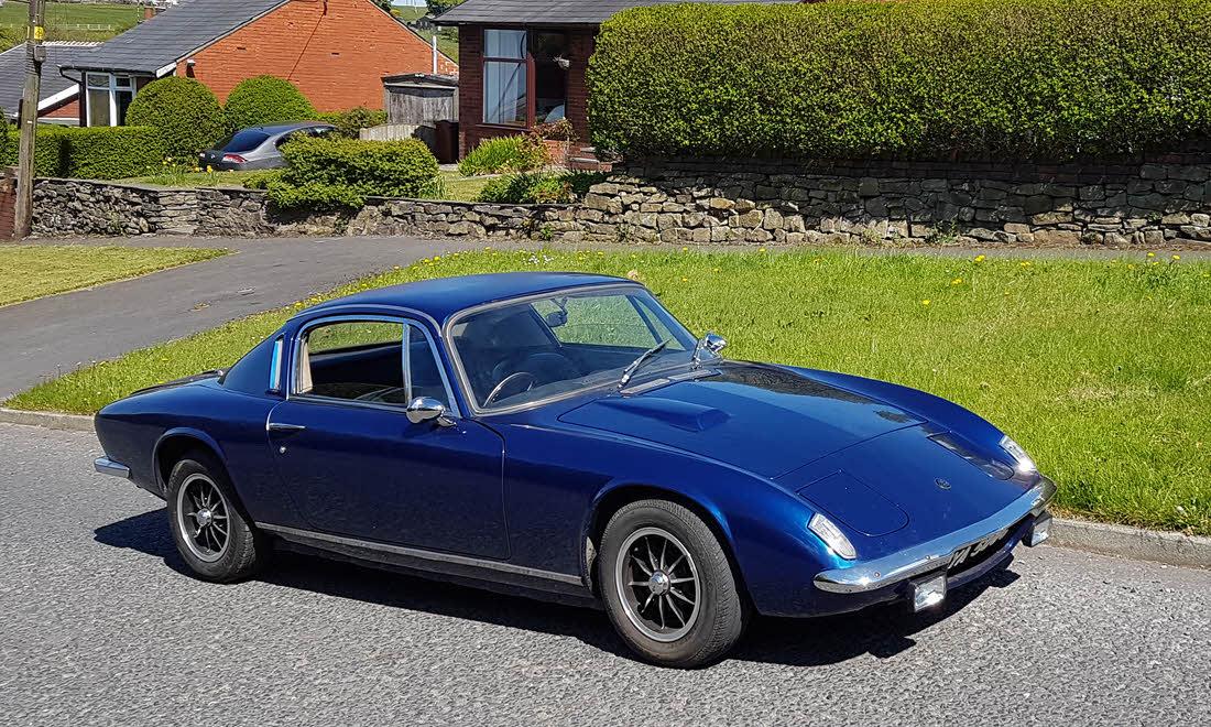 Lot 132 - 1969 Lotus Elan +2 Coupé SOLD for £14,175