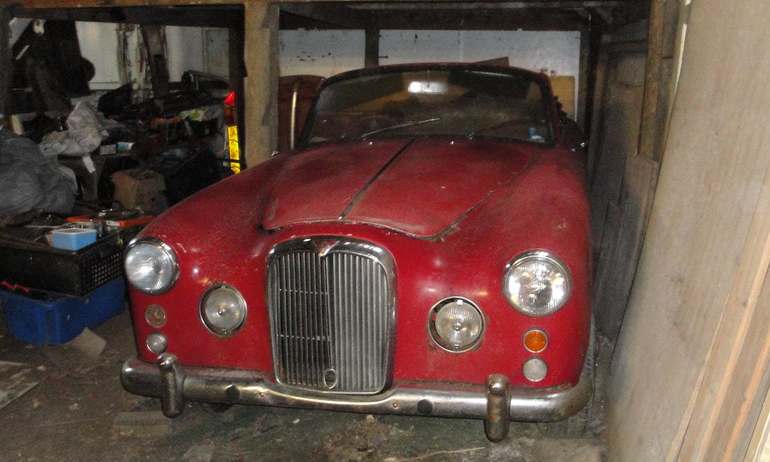 Lot 133 - 1959 Alvis TD21 Drop Head Coupe, Coachwork by Park Ward Ltd. SOLD for £15,750