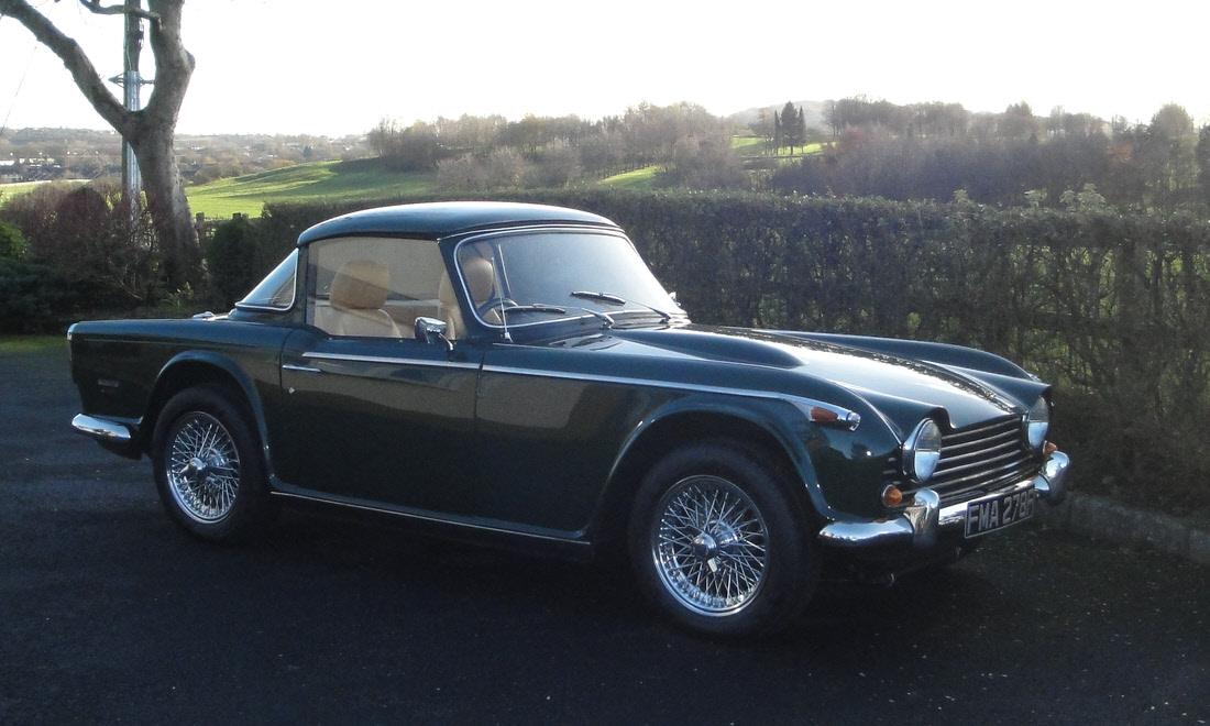LOT 136 - 1967 Triumph TR250 'Surrey Top'. Coachwork by Michelotti Now sold