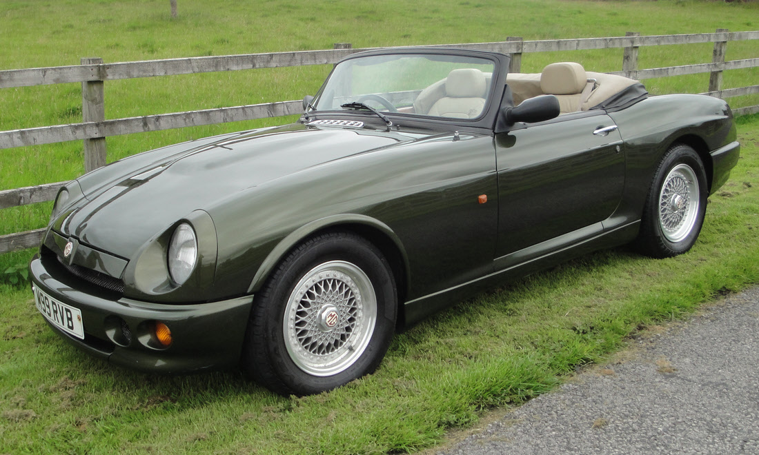 Lot 138 - 1995 MG RV8 Roadster Not Sold. Please contact us