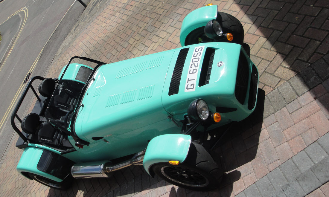 Lot 139 - 2016 Caterham Seven 620S SOLD for £36,750