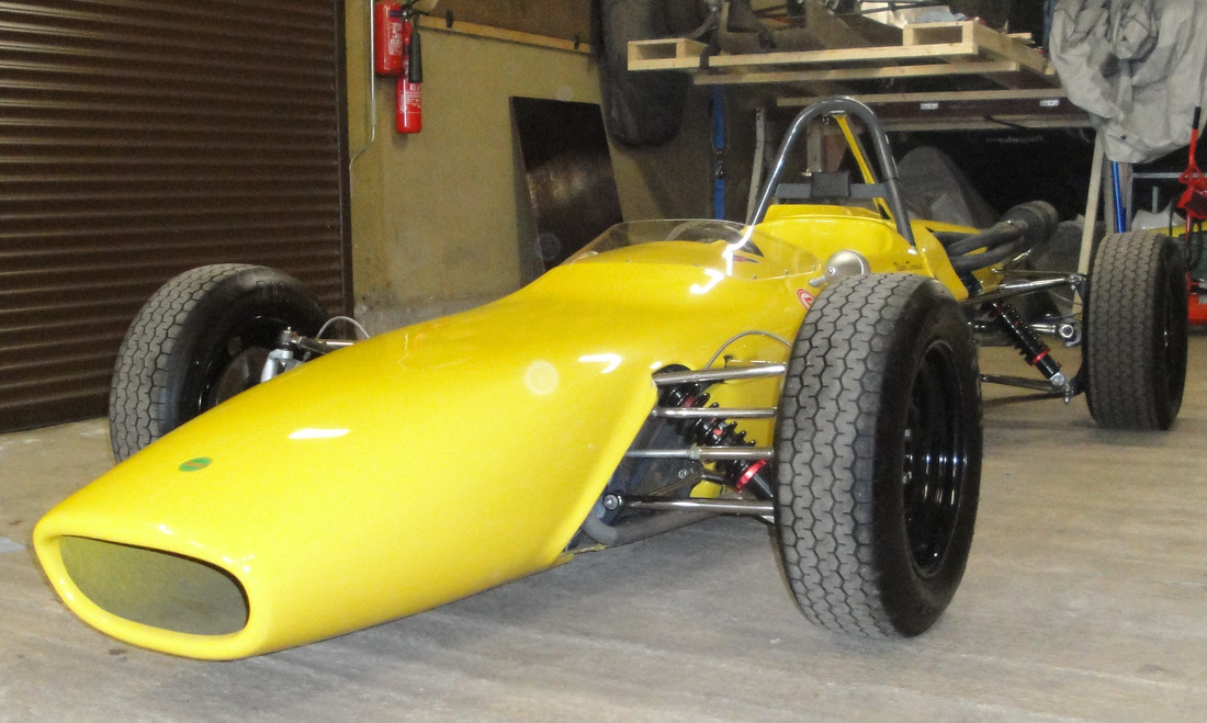 LOT 143 - 1969 Merlyn Mk 11A Formula Ford 1600 Single-Seater