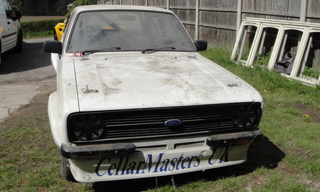 LOT 145 - 1977 Ford Escort MK2 Rally or Race Car Project SOLD for £14,753