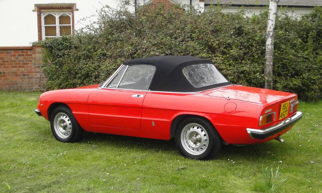 Lot 19 - 1978 Alfa Romeo 2000 Spider Veloce. - Berlinetta CCA