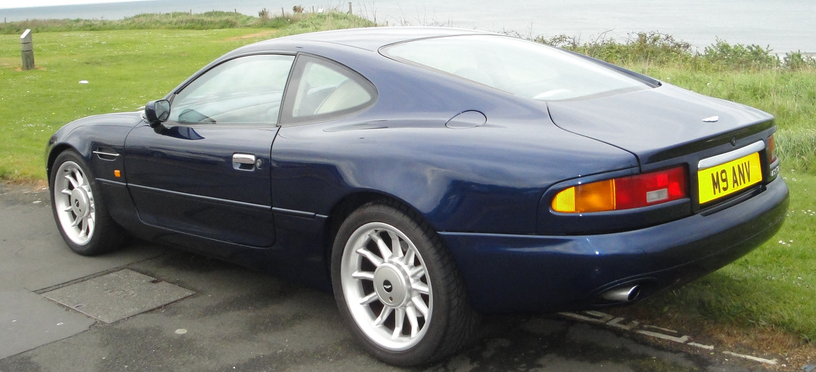 Lot Aston Martin DB Coupe Berlinetta CCA - 1998 aston martin db7