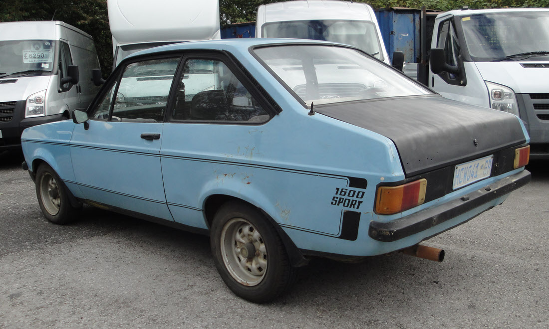 Lot 38 - 1980 Ford Escort MK2 1600 Sport Project - Berlinetta CCA