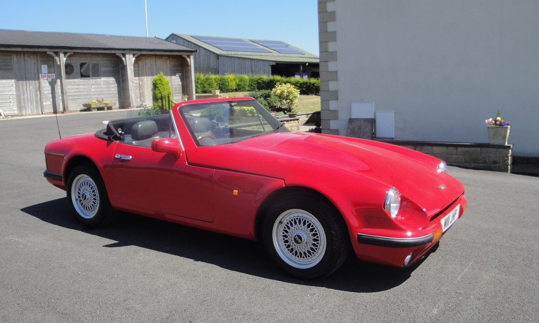 Lot 58 1994 Tvr V8s Berlinetta Cca