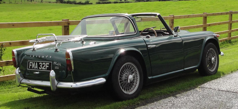 Lot 88 - 1968 Triumph TR4A 'Surrey Top'  Coachwork by
